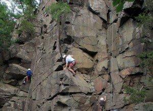 Climber MN Interstate Park