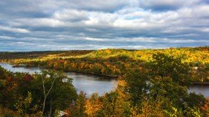 Fall vista of the St. Croix River