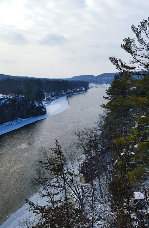 River Trail - St. Croix River Winter