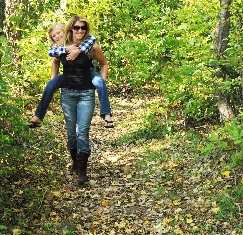 Wearing Kids Hiking Shoes