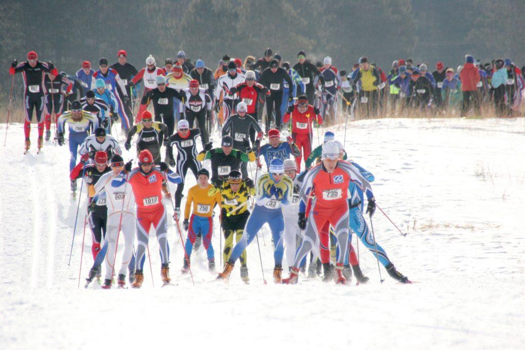 Marine O'Brien Cross Country Ski Race. Photo courtesy of Jeni O'Brien