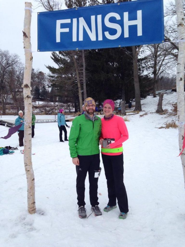 Snowshoe Races are a great way to embrace winter! Photo courtesy of Lacey Scottum.