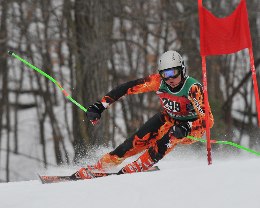 Whether you're a racer or spectator, you'll find plenty of adventure in our ski racing in the St. Croix Valley! Photo courtesy of Tanner Rivard