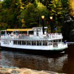 PADDLEBOAT ON THE ST. CROIX RIVER