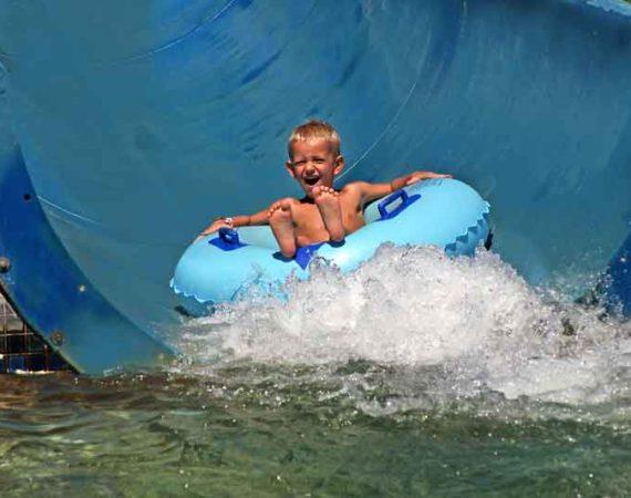 Boy at Waterpark