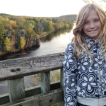 Girl by the St. Croix River